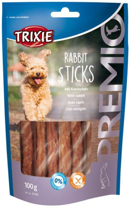 Rabbit sticks, 100g