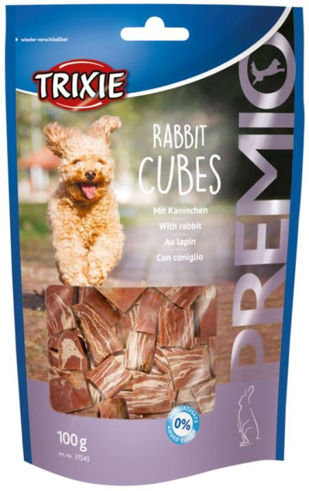 Rabbit cubes, 100g