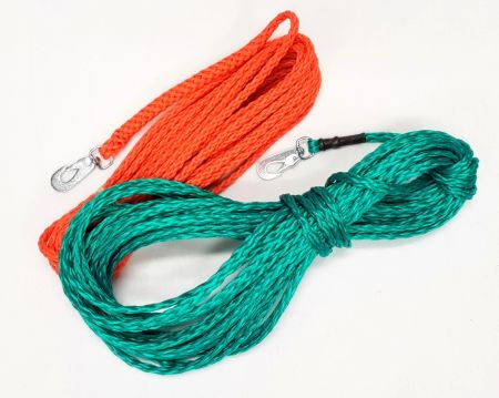 Spårlina 15mtr x 6mm nylon