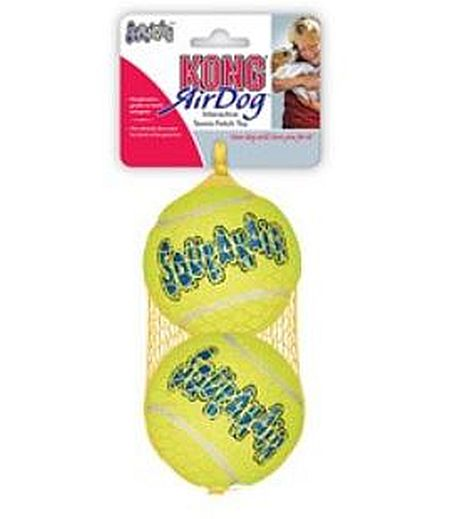 Air Kong squeaker ball, 9cm, 2-pack