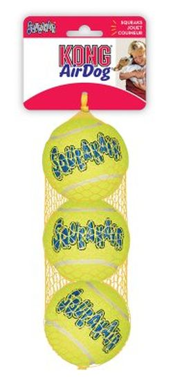 Air Kong squeaker ball, 6cm, 3-pack
