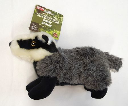 Barry the Badger, 33cm lång