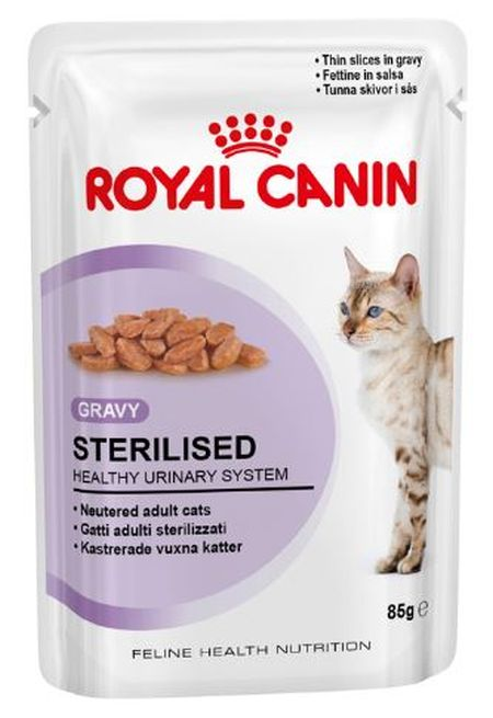 RC Wet Sterilised, Gravy 12x85g