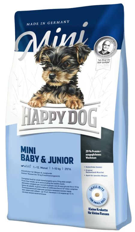 HappyDog Mini baby & Junior, 1kg
