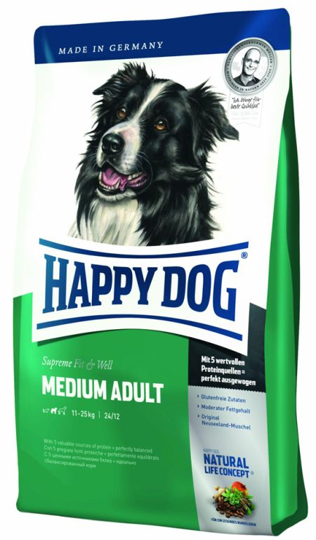 HappyDog Medium Adult, 4kg
