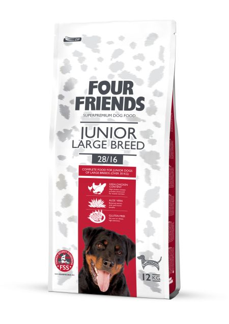 FourFriends Junior Large breed, 12kg