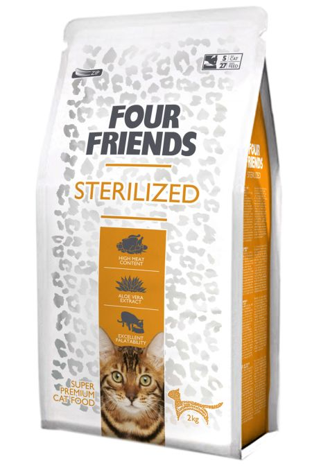 FourFriends Sterilized, 2kg