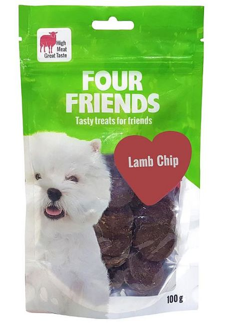 FourFriends Lamb chip, 100g