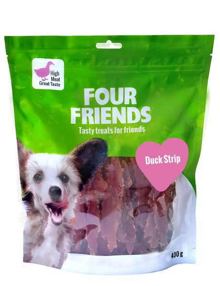FourFriends Duck strip, 400g