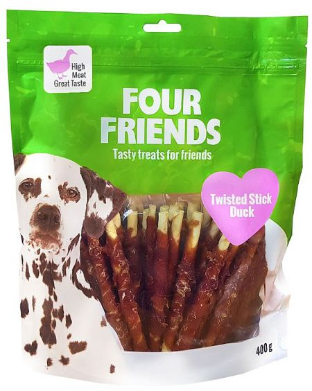 FourFriends Twisted stick duck, 400g