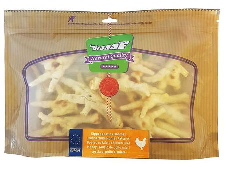 Braaaf Chicken feet honey, 280g