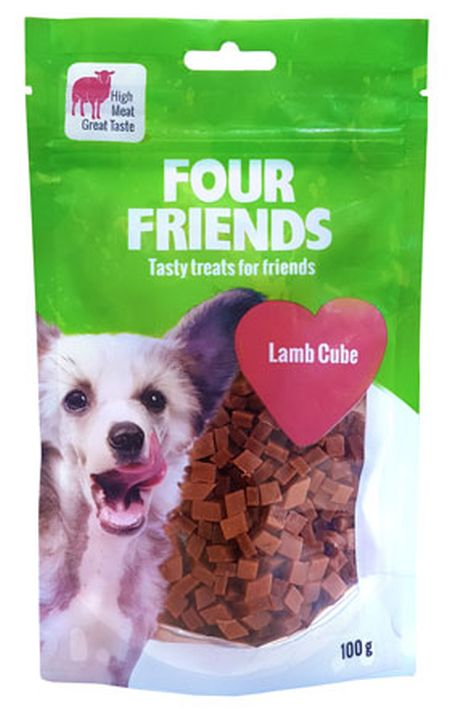 FourFriends Lamb cube, 100g