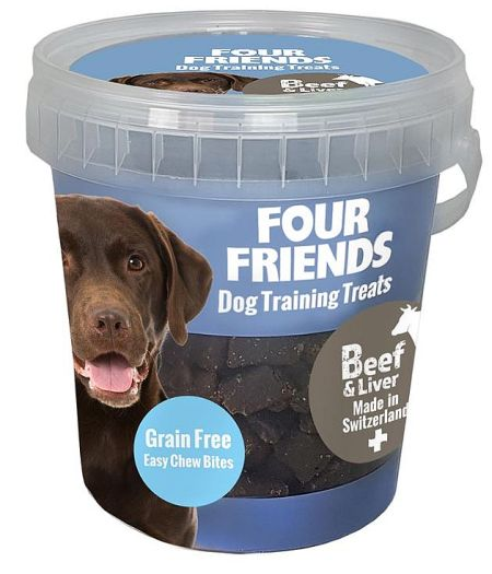 FourFriends Training treats beef & liver, 400g