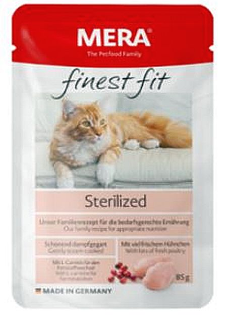 Finest Fit Sterilized, våtfoder 1x85g