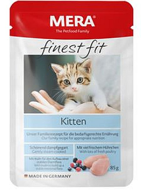 Finest Fit Kitten, våtfoder 1x85g