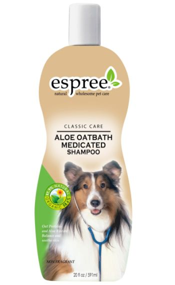 Espree, Aloe Oat bath medicated schampo, 355ml
