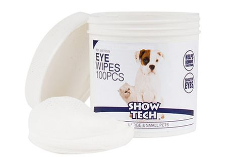 Show Tech Eye wipes, 100-pack