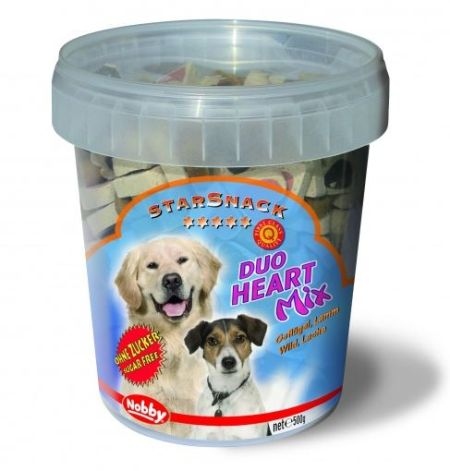 Star Snack duo heart mix, 500g