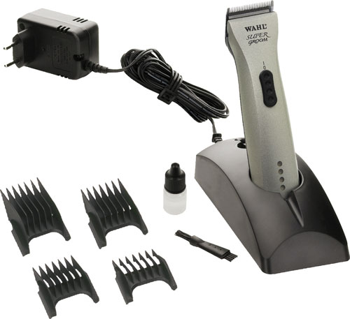 WAHL Trimmer SUPER GROOM laddbar