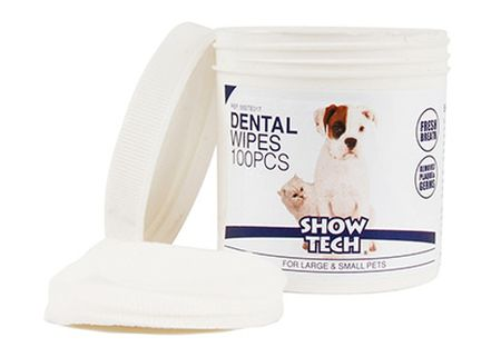 Show Tech Dental wipes, 100-pack