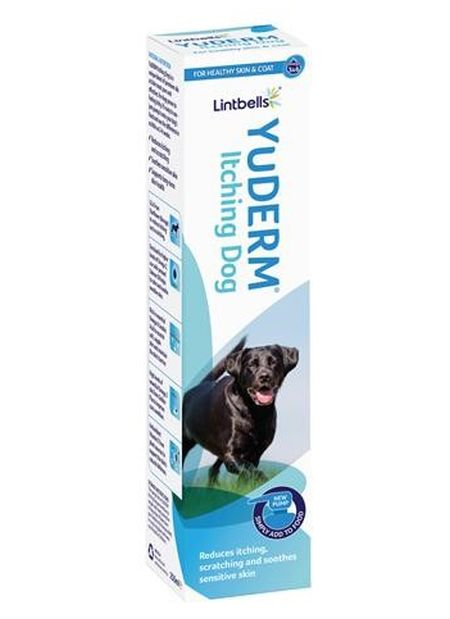 YuDERM Itching Dog, 500ml, Lintbells